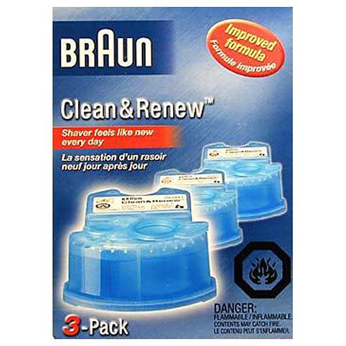 Braun Ccr3 Clean Amp Renew Cartridges Braun Foils Cutters