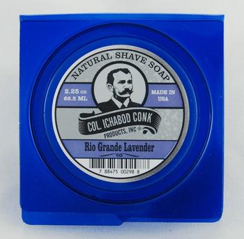New!  C. Conk  RIO GRANDE LAVENDER SHAVE SOAP