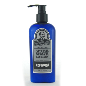 New!  C. Conk  UNSCENTED AFTER SHAVE LOTION