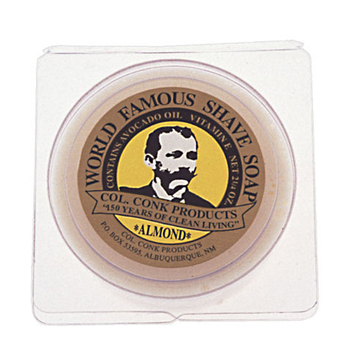 4205  C. Conk  Almond Shave Soap  #112