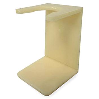 4210 C Conk Faux Ivory Acrylic Brush Stand  #174