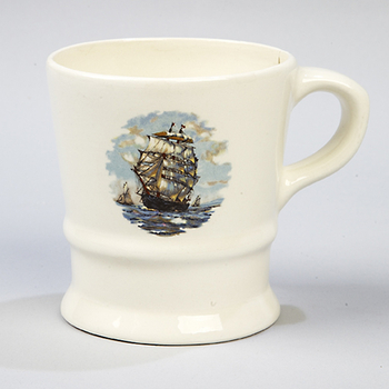 4215  C. Conk  Ship Shave Mug  #115S
