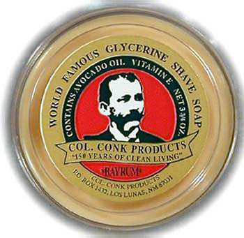 4228  C. Conk  Bay Rum Super Bar Shave Soap  #145