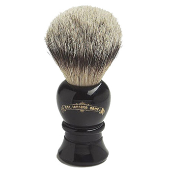 4235 C. Conk Silver Tipped Badger Shave Brush #2235