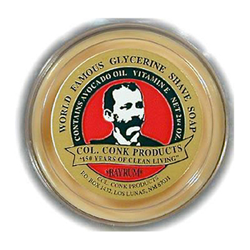 4241  C. Conk  Bay Rum Glycerin Shave Soap  #143
