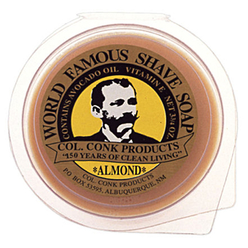 4289  C. Conk  Super Bar Almond Shave Soap  #158