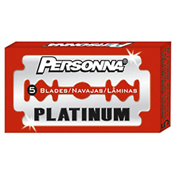 4317 Personna Red 5 Blades Pack