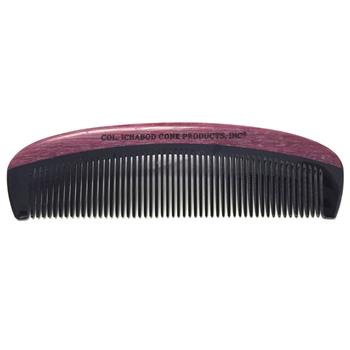 4364 Col Conk Violet Sandalwood and Horn Beard Comb