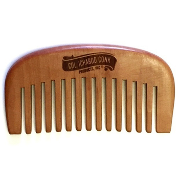 4367 Col Conk Small Wood Beard Comb