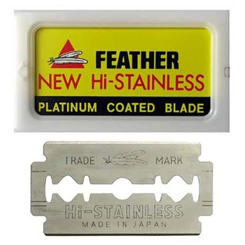 AS-D1 Feather DE Razor Blades