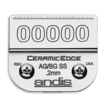 Size 00000 Ceramic Edge AG/BG SS