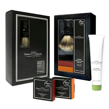 GS2SCAVT Jagger Black Super Brush, Stand & Cream Set