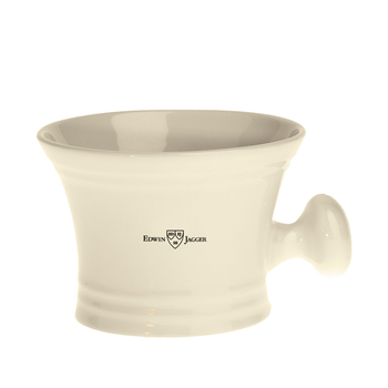 RN47 Jagger Porcelain Shaving Bowl with handle - Ivory
