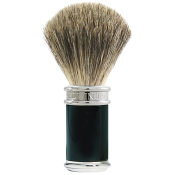 7996a EJ Black/Chrome Pure Badger Shaving Brush 81SB8611