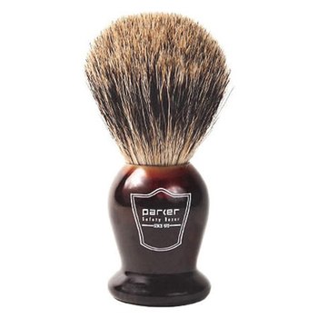 THPB Parker Tortoise Handle - Pure Badger Brush