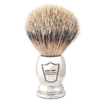 CHST Parker Chrome Handle - Silvertip Badger Brush