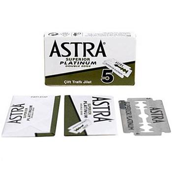 Astra Safety Razor Blades