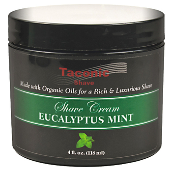 Taconic Eucalyptus and Mint Shaving Cream