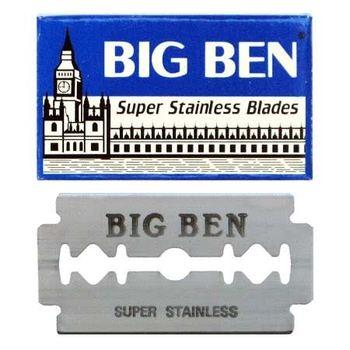 Big Ben Safety Razor Blades