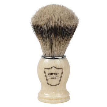 IHST Parker Ivory Handle - Silvertip Badger Brush