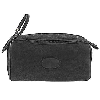 D8354 Dual Zip Men's Dopp Bag with Velcro