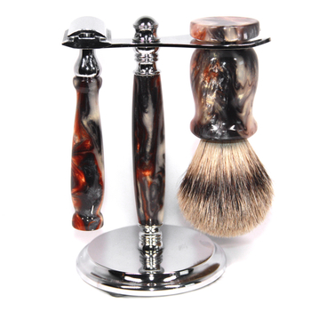 Acrylic Shaving Set