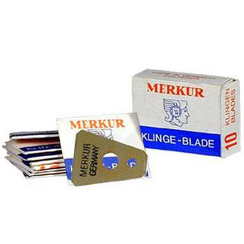 Merkur Moustache & Eyebrow Razor Blades  cc7018