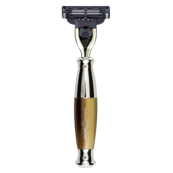 R35211 Jagger Mach3 Light Horn, Nickle Plated Razor