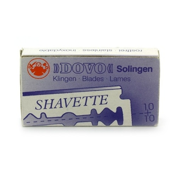 4299 Dovo  Short Blades for Shavette Red Holder