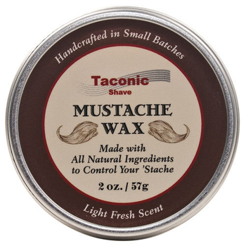 Taconic Shave's All Natural Handcrafted Mustache Wax